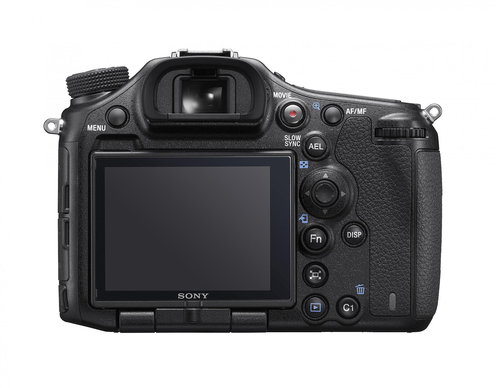 Sony A99 II sedd bakifrån