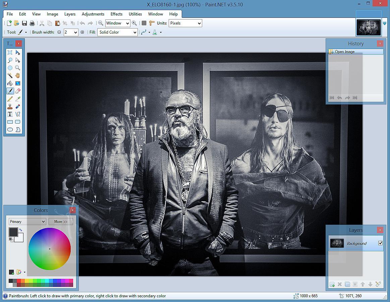program för fotoredigering