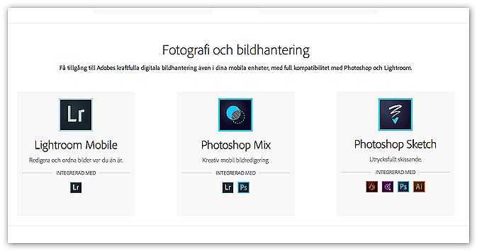 Nya foto-appar från Adobe  84d17eac6cd2c