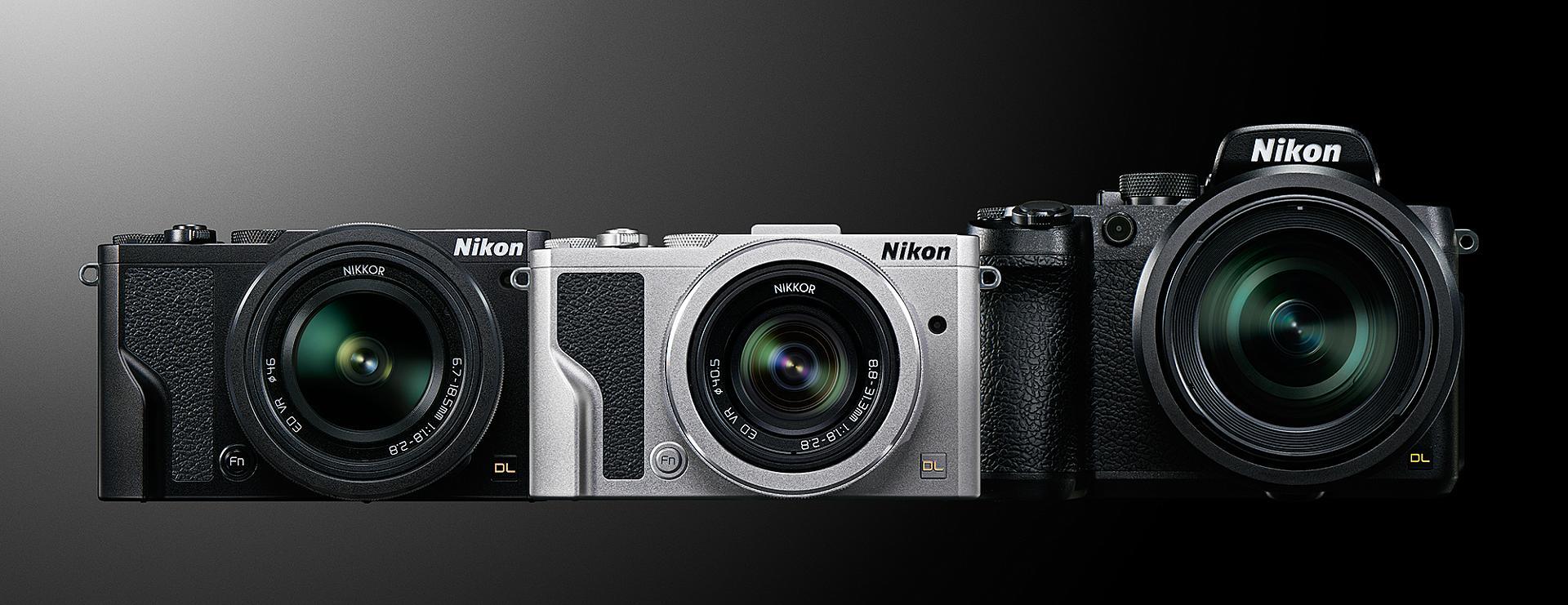 Nikons alla nya DL-kompakter.