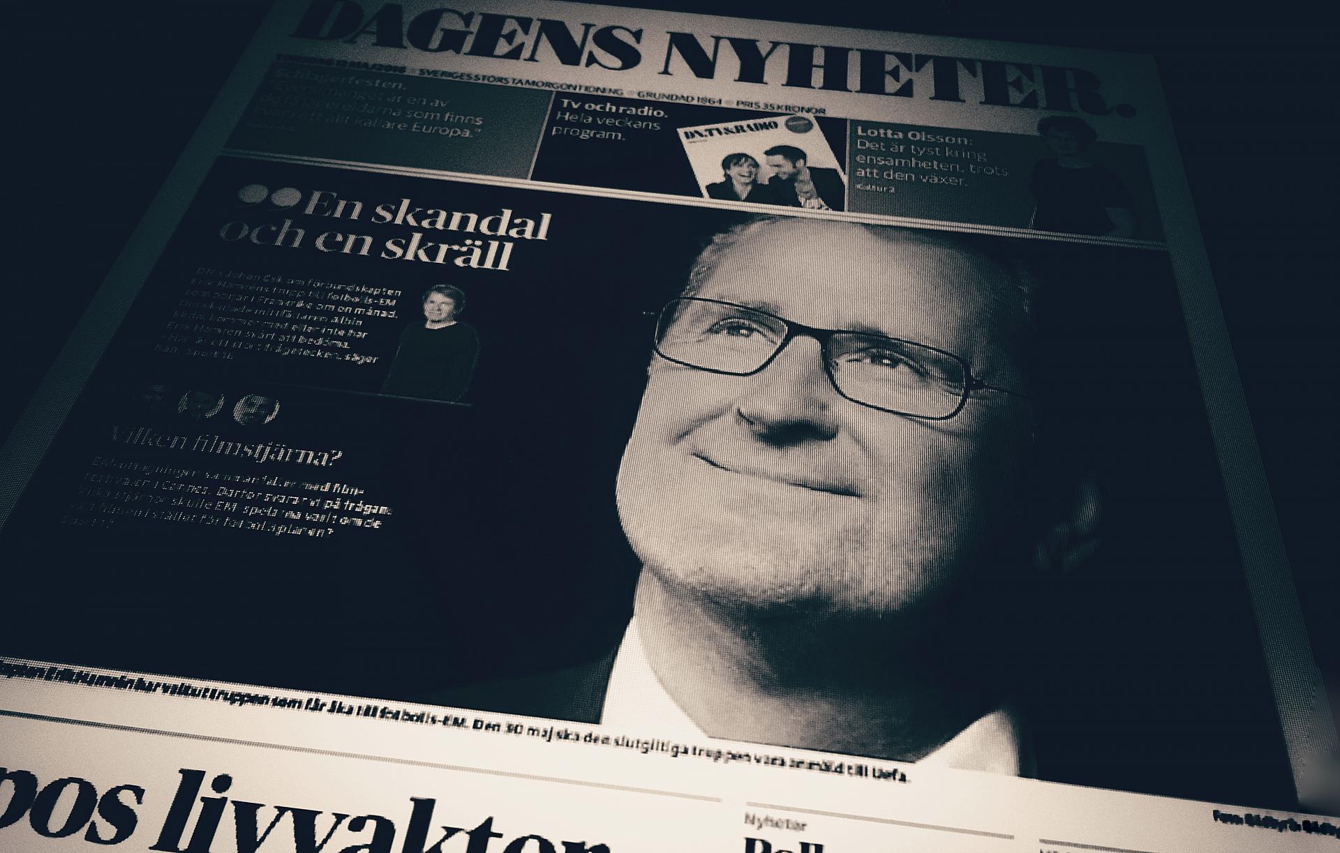 Den totala upplagan for svensk dagspress okar