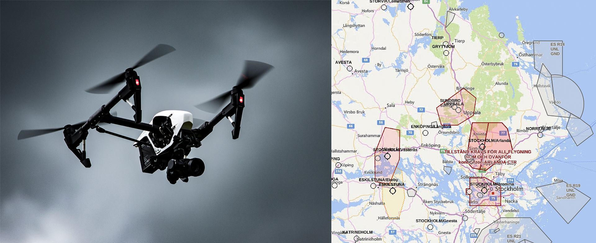 Rekordmanga incidenter med dronare