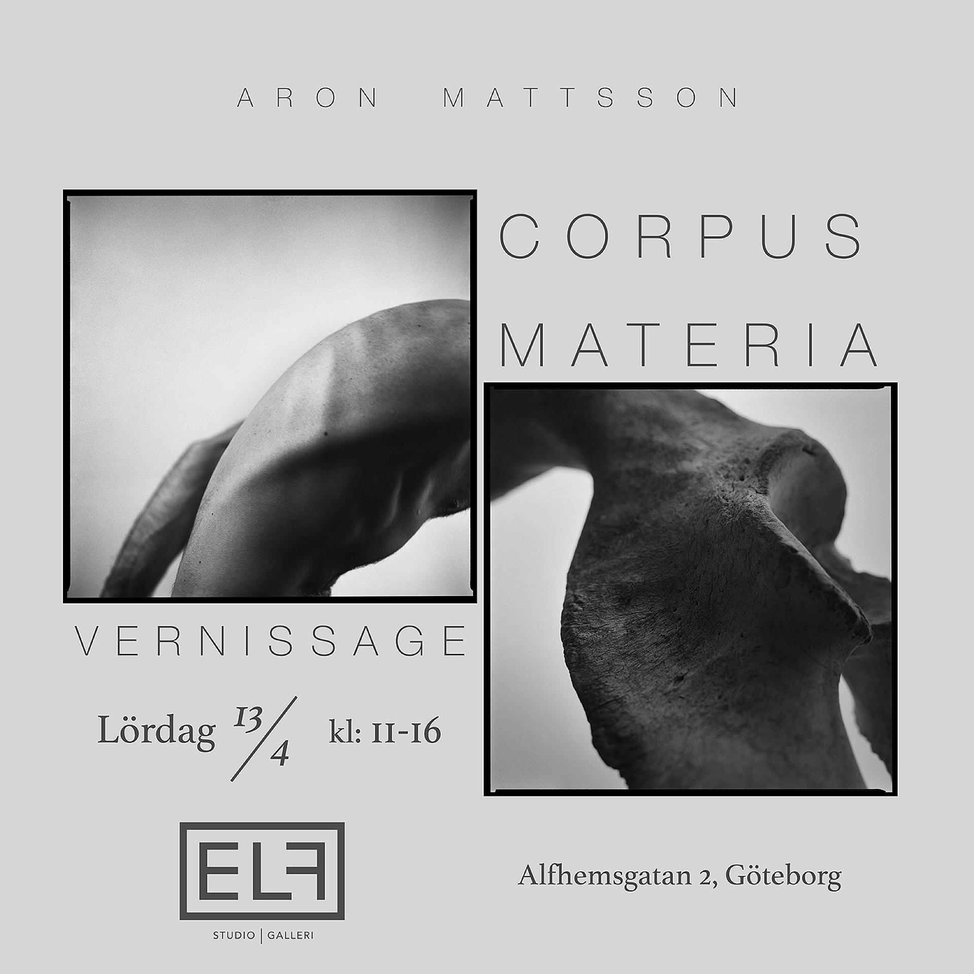 Vernissage corpus materia aron mattsson