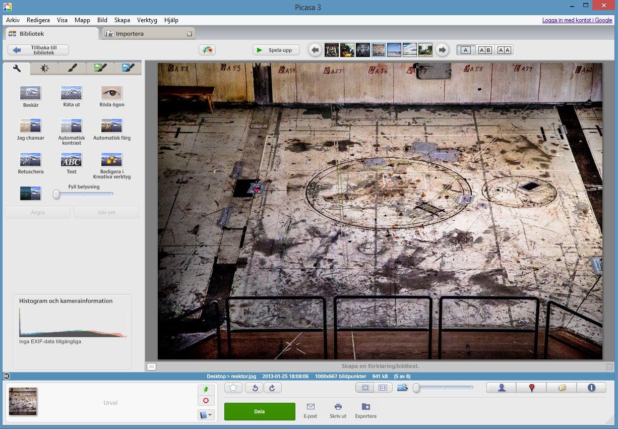 redigera bilder gratis program