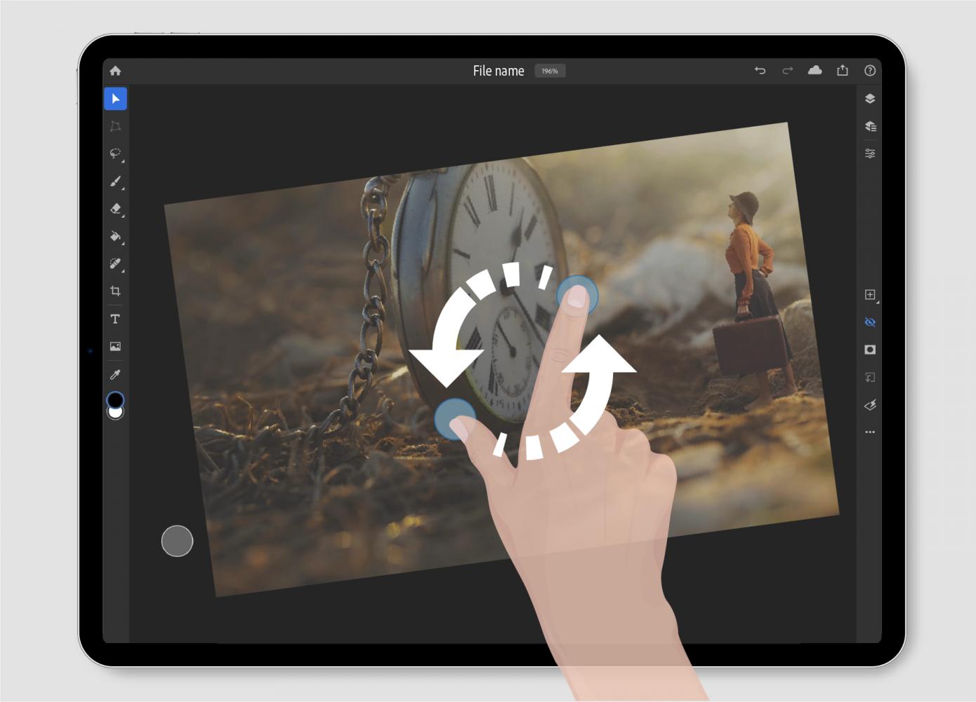 Adobe uppdaterar Photoshop Ipad med två nya funktioner