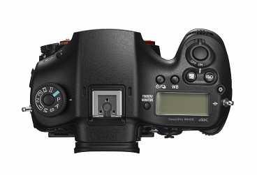 Sony A99 II sedd uppifrån