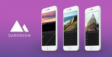 Darkroom fotoredigerings app för Iphone