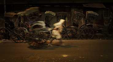kolkata, calcutta, india, rickshaw, rickshawallah