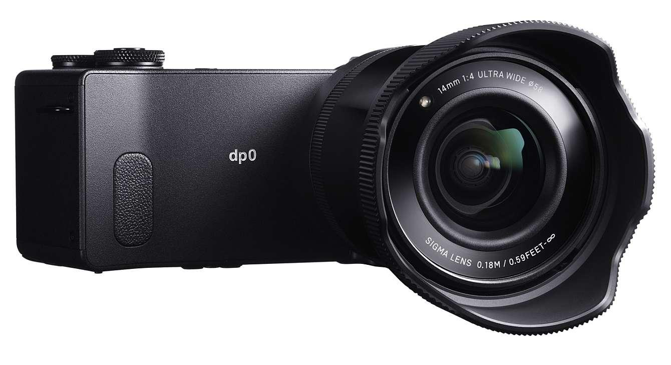 Sigma DP0, en kompaktkamera med fast brännvidd