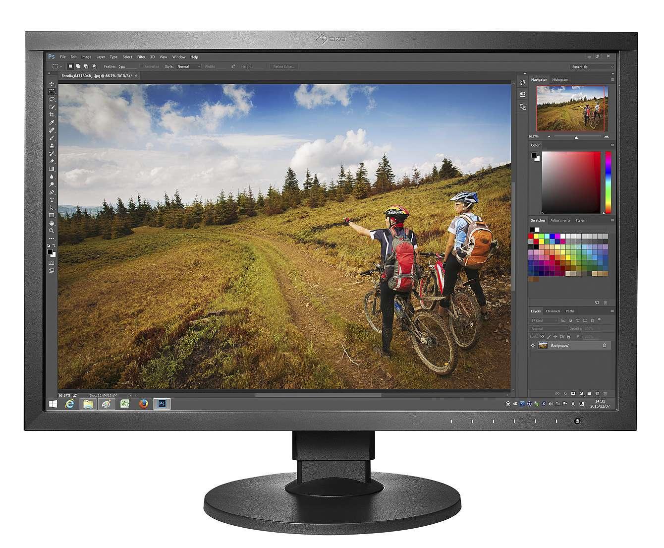 Eizos nya skärm ColorEdge CS2420