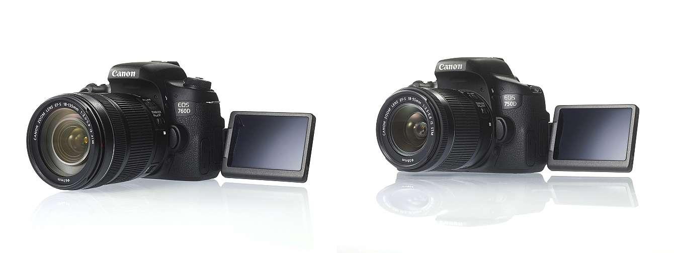 Nya Canon D750 och D760