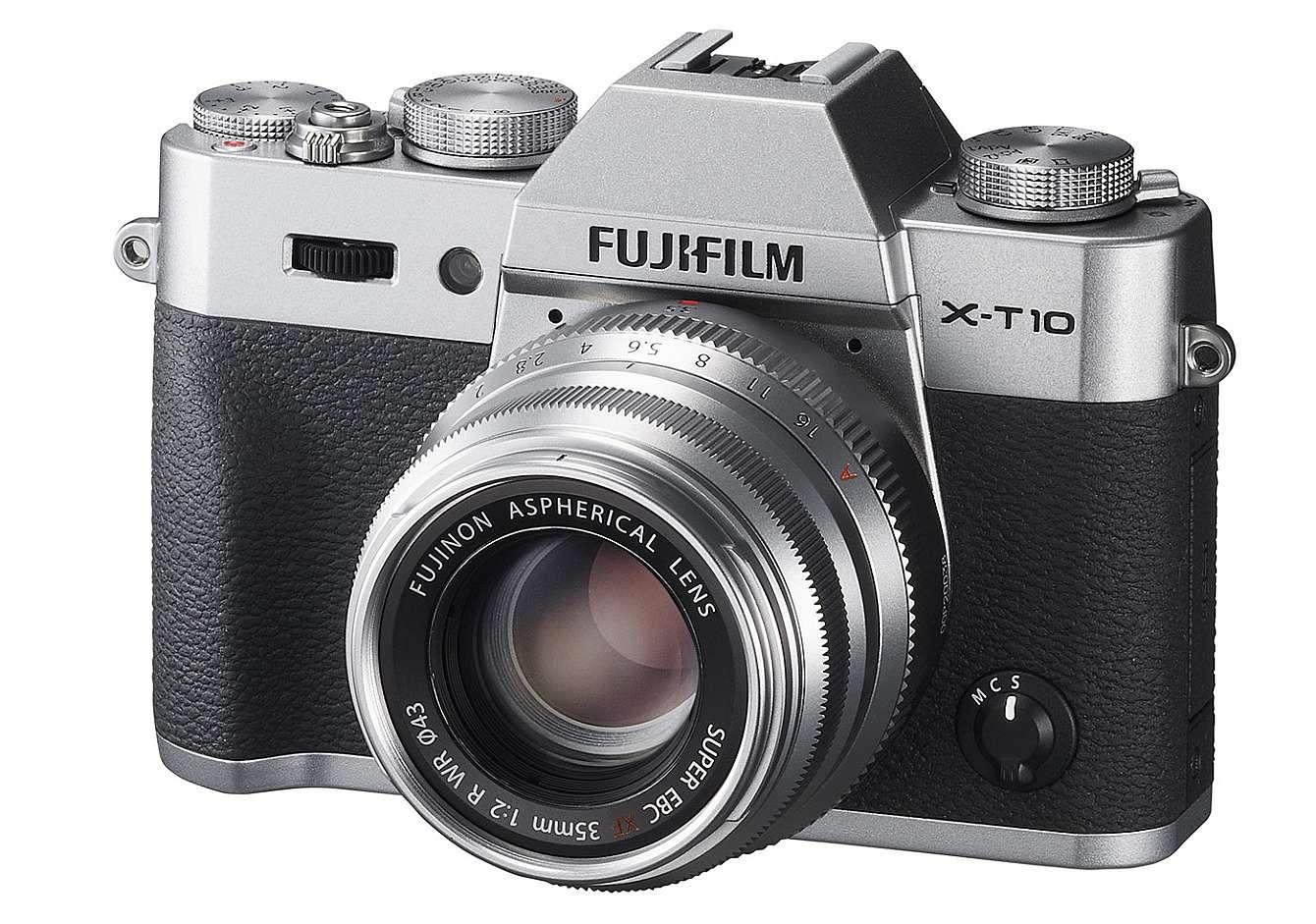Fujis nya 35mm-objektiv på en X-T1