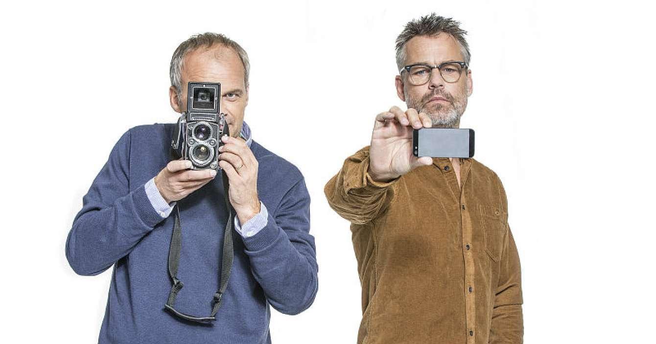 """Nu säsong av """"Alla är fotografer"""" med Johan Rheborg och Henrik Schyffert"""