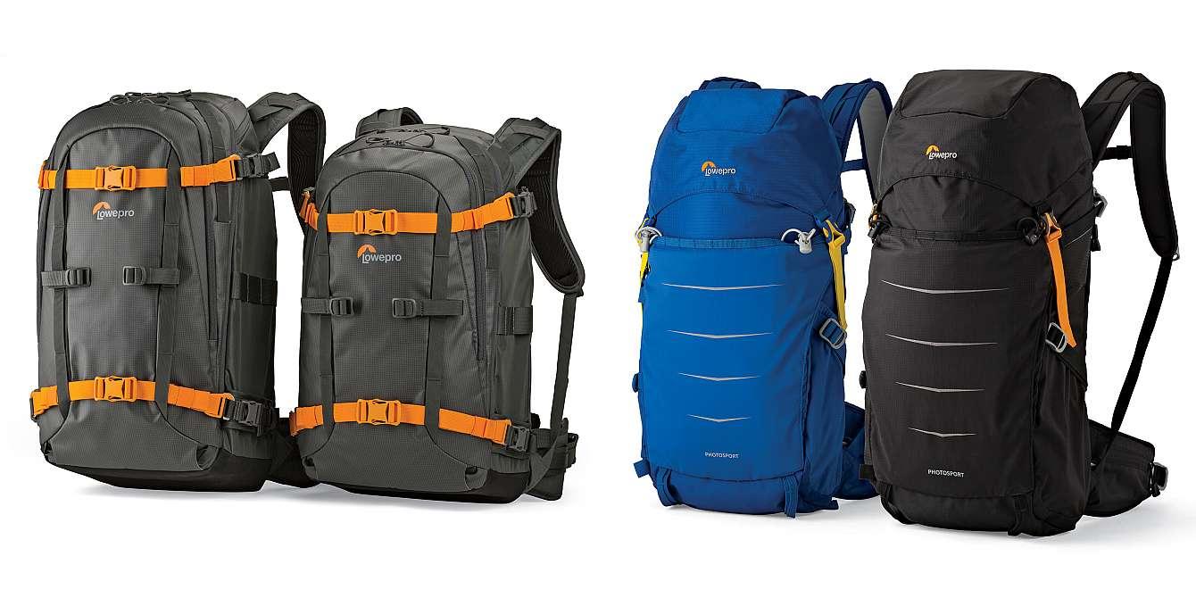 Fotoryggsäckar från Lowepro