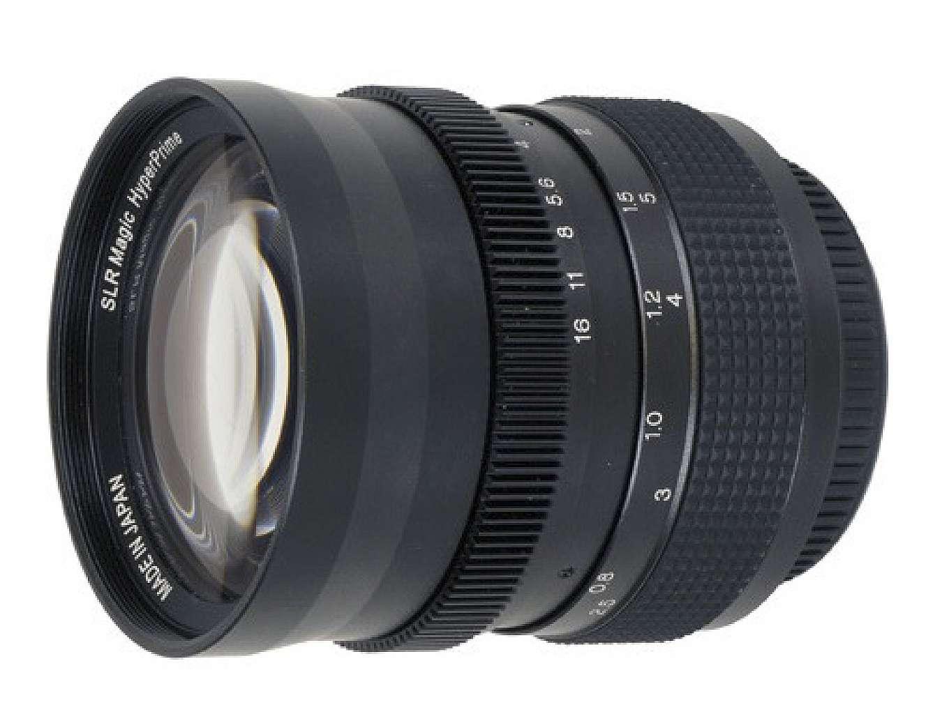 Ett kameraobjektiv